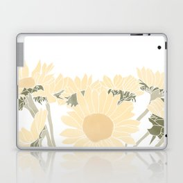 sunflower bouquet Laptop & iPad Skin