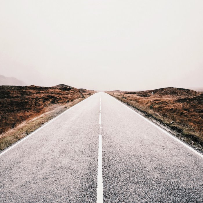 ROAD - HIGH WAY - LANDSCAPE - PHOTOGRAPHY - NATURE - ADVENTURE - SKY Comforters