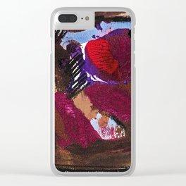 Honeymoon Clear iPhone Case