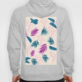 Flamingo Abstract Pattern Hoody