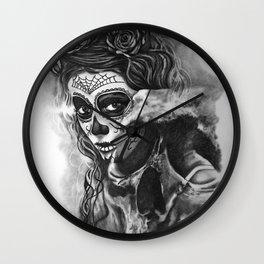 Skull1 Wall Clock