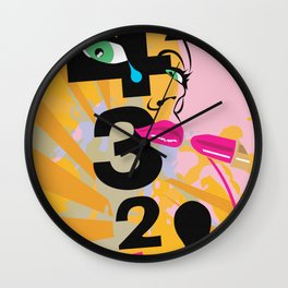 Tears of a Clown Wall Clock