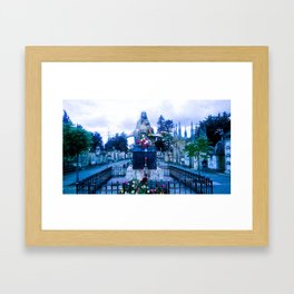 R.I.P. soldiers.  Framed Art Print