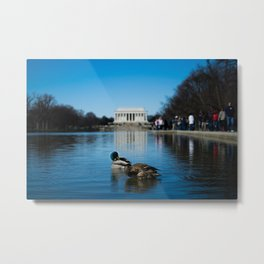 Out in D.C. Metal Print