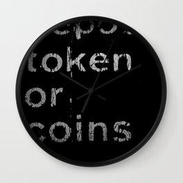 Deposit token Wall Clock