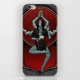 Mistress of Chaos iPhone Skin