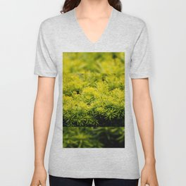Taxus baccata Yew new shoots Unisex V-Neck