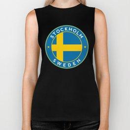 Sweden, Stockholm, circle Biker Tank