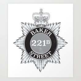 Baker Street Regulars Art Print
