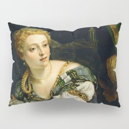 """Veronese (Paolo Caliari) """"Judith with the Head of Holophernes"""" Pillow Sham"""