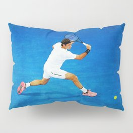 Roger Federer Sliced Backhand Pillow Sham