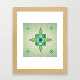 Ellips Framed Art Print