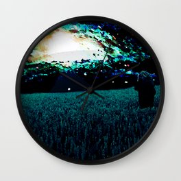 Leaving Here Forever Wall Clock