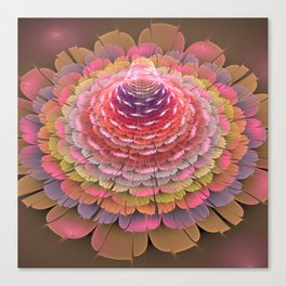 Fairy-tale Trumpet Flower Canvas Print