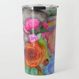 Lunatic Flowerscent Heart Travel Mug