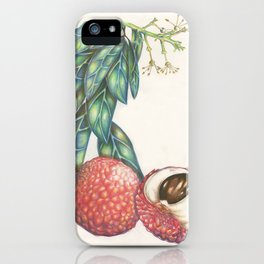 Lychee iPhone Case