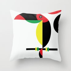 Tucan Throw Pillow