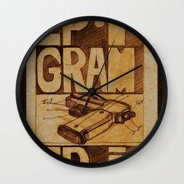 Epigram Wall Clock