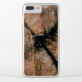 Chiastolite Clear iPhone Case