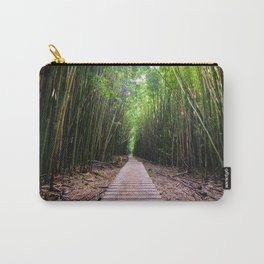 Bamboo Boardwalk on Maui Carry-All Pouch