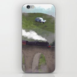 The Flying Car iPhone Skin