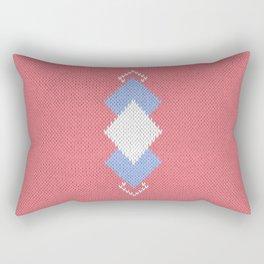 Wool diamonds 01  Rectangular Pillow