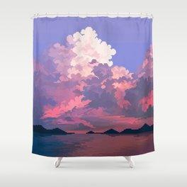 Daunting Shower Curtain