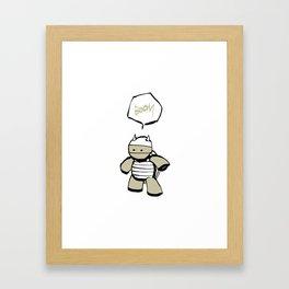 minima - mr. pal Framed Art Print