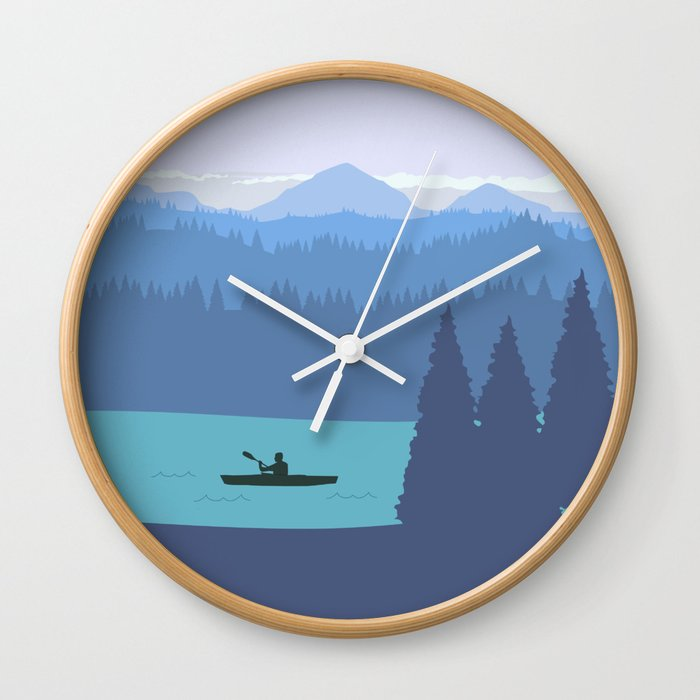 It's always a good day to paddle Wall Clock