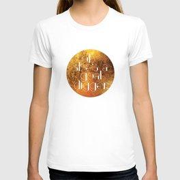 Oh She's A Goal Digger - Golden T-shirt