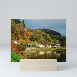 Tintern in Fall Mini Art Print