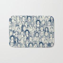 WOMEN OF THE WORLD BLUE Bath Mat