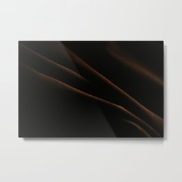 "Sheet rinkled | Fine art photo print of the series ""still-life"" Metal Print"