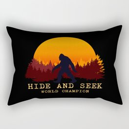 Bigfoot - Hide and Seek World Champion Rectangular Pillow