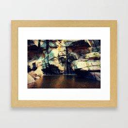 Cache la Poude Framed Art Print