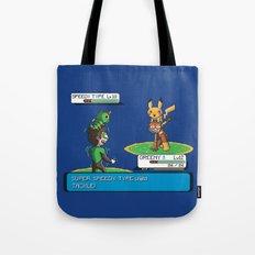 Super Speedy Type Tote Bag