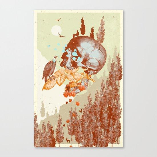 RASPBERRY MOUNTAIN Canvas Print