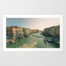 Grand Canal of Venice Art Print