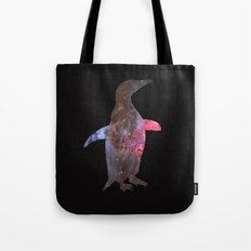 SPACE PENGUIN Tote Bag
