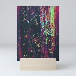 acryl colors artwork Mini Art Print