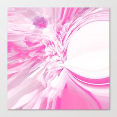 Hot Saturn Evolving Canvas Print
