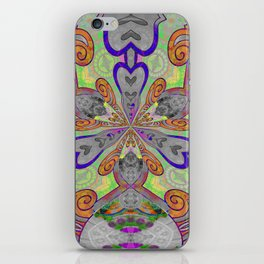Magical Mystery Tapestry Print iPhone Skin