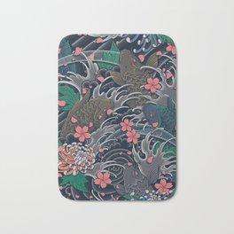 Blossom Blizzard Bath Mat