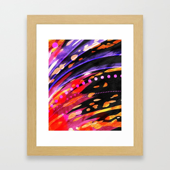 The Terminal Velocity Framed Art Print