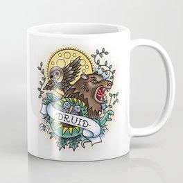 Druid - Vintage D&D Tattoo Coffee Mug