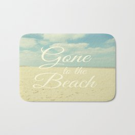 Gone To The Beach Bath Mat