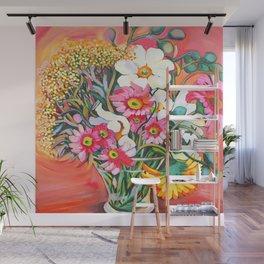 Yellow Gerbera Wall Mural