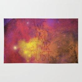 Nebula (Text) Rug