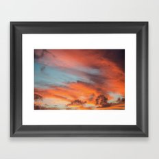 SIMPLY SKY Framed Art Print