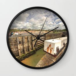 Bude Canal Lock Wall Clock